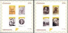 Stamps Catalonia Trial Proof Edition 2016 Catalunya Cataluña