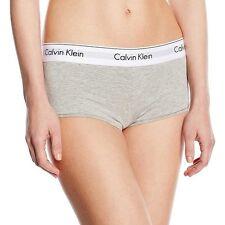 Calvin Klein Mujer Moderna Algodón Corto, Gris