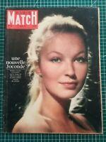 Paris Match N°622 1961 Marina Vlady, Johnny Hallyday, incendie ambassade France