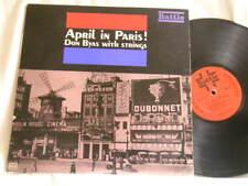 DON BYAS April in Paris With Strings Jacques Denjean Battle 6121 MONO dg LP