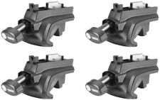 Thule 757 Roof Bar Foot Pack Set of 4 Includes locks & Keys Unused