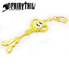 Fairy Tail Metal Keychain of Constellation Magister Lucy's Zodiac Aquarius key