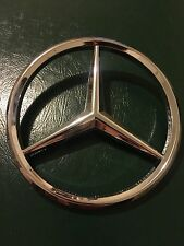 "Mercedes Benz OEM Genuine Grille Emblem Star Badge 6.5"" Diameter R129 SL Class"