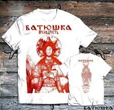 BATUSHKA LITOURGIYA OFFICIAL alle Größen Size Батюшка Black Metal PREMUDROST RED