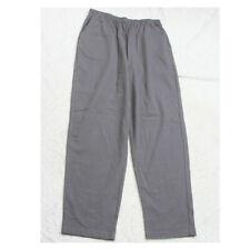 "Size 16 Blair Gray Elastic Waist Solid Dress Pants 29"" Waist X 30"" Inseam CC25"