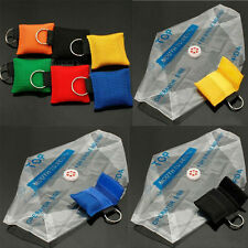Emergency Keychain Rescue Key Ring Face Shield Mask CPR Resuscitator
