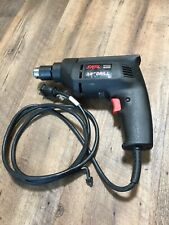 "Skil 3/8"" Reversible Corded Power Drill Model 6225 Tool w/ Chuck Works Great"