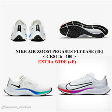 NIKE AIR ZOOM PEGASUS 37 FLYEASE (4E) <942854 - 001>.Men's Running Shoes.NEW
