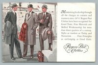 Rogers Peet Clothes NEW HAVEN Connecticut—Rare Vintage Fashion Advertising 1955