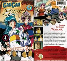 Can Can Bunny Extra 5 Anime VHS Video Tape Nw English Subbed Mature Soft Cel 18+