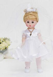 "Madame Alexander # 71460 First Communion Blonde Hair 8"" Doll - New in Box"