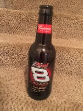 "2000 Dale Earnhardt jr NASCAR giant 15"" empty Budweiser Beer Bottle"