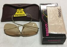 Tasco Shooting Glasses 1165PB Photo Brown Plastic Lens, Rimless