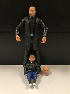 WWE Mattel Paul Ellering Wrestlemania 37 Elite Series BAF Build A Figure loose