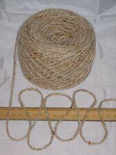 1000g 1kg Aran Cream Oatmeal Tweed 100% Pure Wool British Breed knitting EFW 601