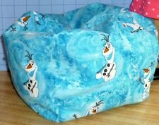 Frozen Olaf all over, Bean Bag chair for dolls, Made to fit American Girl dolls