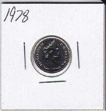 1978 Canada Nickel 10 Cent coin From Double Dollar Set