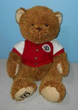 "2012 Large 18"" One Direction Bear 1D Varsity jacket Teddy Stuffed Plush"