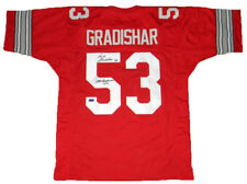 RANDY GRADISHAR OHIO STATE BUCKEYES SIGNED AUTOGRAPHED #53 RED JERSEY COA