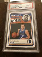 2018 Panini Hoops Luka Doncic Class of 2018 #3 PSA 10 GEM MT Rookie Card