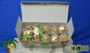 !!10 LOT!! Living World Small Animal Cones - Fruit Treat - 10x40 g (1.4 oz)