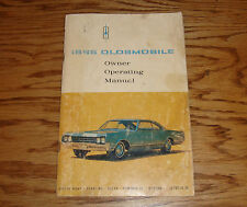 Original 1965 Oldsmobile Ninety-Eight Starfire Delta 88 Owners Operators Manual