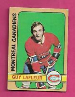 1972-73 OPC # 59 CANADIENS GUY LAFLEUR 2ND YEAR VG CARD  (INV# D3622)