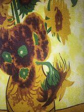 """NWT Robin Ruth """"bouquet de tournesols"""" Vincent Van Gogh Yellow Floral Necktie"""