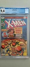 X-MEN #123 CGC 9.4 WHITE PAGES