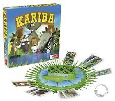 KARIBA - BRETT-SPIEL SPIEL VON GOLIATH TOYS NEU Kartenspiel zum Stecken