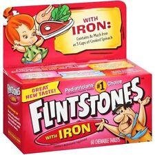 Flintstones Plus Iron Tablet 60ct