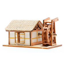 YM604 Ho Series - Korean Traditional Water Mill House - Wooden Model Kit