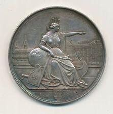 Medaille Hamburg 1841 Hammonia Auf die Neue Börse  Ø ca. 42 mm ca. 30 g