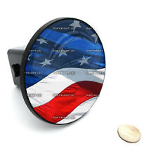 "2"" Tow Hitch Receiver Plug Cover Insert For SUV's & Trucks - ""USA FLAG"""