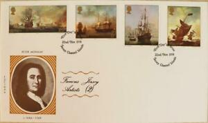 """Jersey Stamps """"Jersey Artists II - Monamy"""" First Day Cover 1974"""