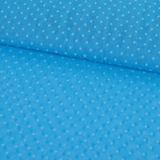 Baumwolljersey Jersey New York USA blau weiß hellblau 1,5m Breite