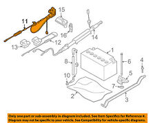 BMW OEM 08-14 X6 Battery-Negative Cable 12427603567