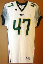 COLORADO STATE RAMS #47 White COLLEGE FOOTBALL Russell Size LARGE JERSEY
