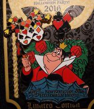 Disney Not So Scary Halloween Party 2016 Queen of Hearts Masquerade LE Pin