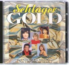 Schlager Gold Ingrid Peters, Nighttrain, Mary Roos, Roberto Blanco, Paola.. [CD]