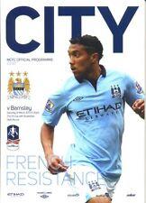 Away Teams A-B Barnsley FA Cup Football Programmes