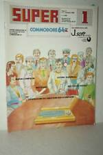 RIVISTA SUPER COMMODORE 64 ANNO 3 NUMERO 1 GENNAIO 1986 USATA ED ITA FR1 54754
