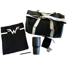 Weezer 2019 concert tour Vip Exclusive set duffle bag thermos pen blanket dice