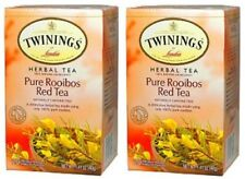 Twinings Of London Pure Rooibos Red Tea 2 Box Pack