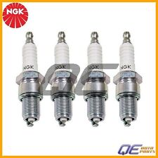 Set Of 4 Spark Plugs NGK Standard Non-Resistor BP6ES For Audi Porsche Volkswagen