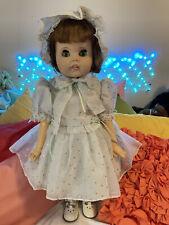 Vintage 1960s American Character Toodles Doll, Flirty/Follow Me Eyes, 2 Dresses
