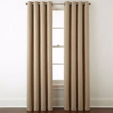 New JCP Home Expressions Pasadena Blackout Grommet Window Curtain Panel 50 X 84