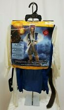 DISGUISE DISNEY CHILD'S CAPTAIN JACK SPARROW PIRATES OF CARIBBEAN COSTUME SMALL