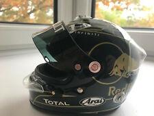 Sebastian Vettel - 1/2 half scale helmet, 2011 Korean GP Arai helmet