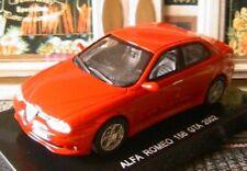 ALFA ROMEO 156 GTA 2002 1/43 ITALIA ROUGE ROSSO RED NEW 1/43 EDISON ROT ITALIE